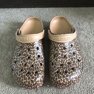 Cheetah Crocs